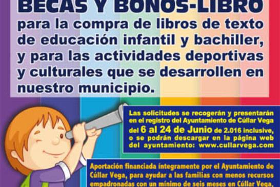 """""""Siempre una oportunidad"""" Programa de Ayudas Becas y Bonos-Libro"""