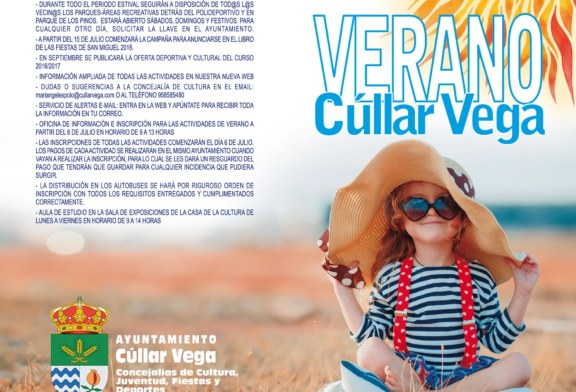 Agenda de Verano Cúllar Vega 2016