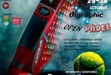 """I Open de Pádel """"Digraphic"""" de Cúllar Vega"""