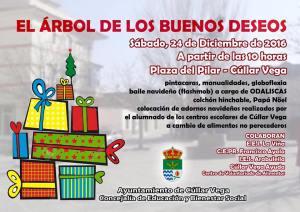 Arbol de los buenos deseos @ Plaza del Pilar | Cúllar Vega | Andalucía | España