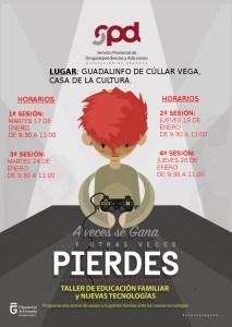Taller de Educación Familiar y Nuevas Tecnologías @ Centro Guadalinfo, Casa de la Cultura | Cúllar Vega | Andalucía | España