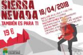 Sierra Nevada también es para ti (18 de Abril)
