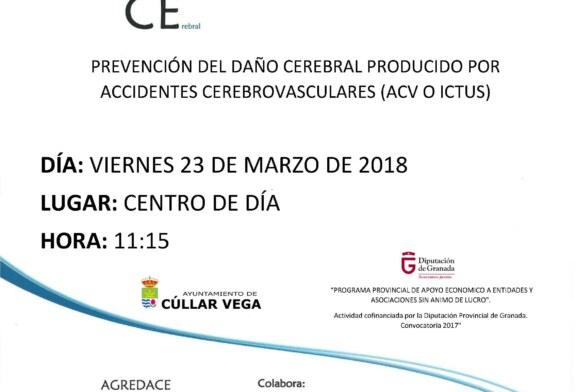 Taller sobre la Prevención del Daño Cerebral producido por accidentes cerebrovasculares (ACV o ICTUS)