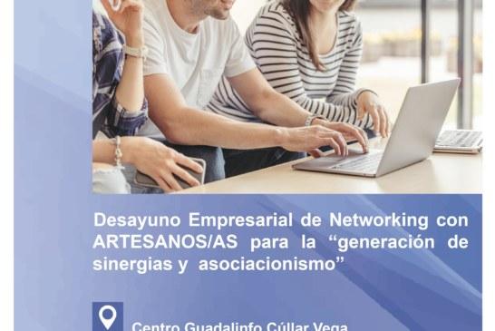 """Desayuno con Emprendedores/as Artesanos/as para la """"generación de sinergias y  asociacionismo"""""""