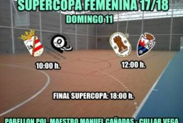 SUPERCOPA FEMENINA DE FÚTBOL SALA 17/18