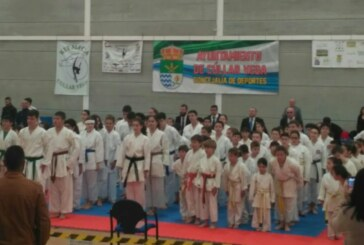 Más de 200 jóvenes deportistas participan en el III Campeonato de Kárate Cúllar Vega