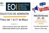 Abierto el Plazo de solicitud de admisión de la Escuela Oficial de Idiomas