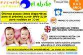 """Aún quedanPlazas Libres en la Escuela Infantil Municipal """"El Aljibe"""""""