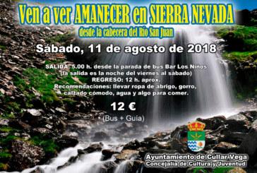 Ven a ver Amanecer en Sierra Nevada