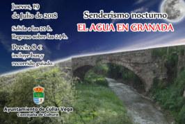 """Senderismo Nocturno """"El Agua en Granada"""""""