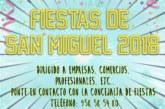 Anúnciate en el Libro de las Fiestas 2018