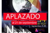 Aplazada la III Noche en Blanco para el próximo viernes 21 de septiembre