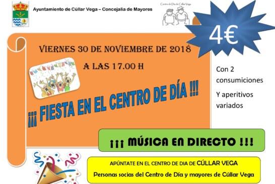 """El viernes 30 de Noviembre """"Fiesta en el Centro de Día"""""""