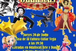 Circo Odaliscas organizado por Odaliscas Arte y Danza