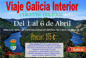 Viaje a Galicia Interior del 1 al 6 de abril de 2016