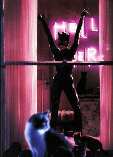 Owning her bitchiness as Catwoman