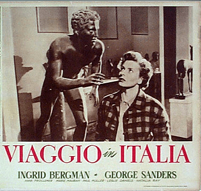 Promotional poster for Viaggio in Italia