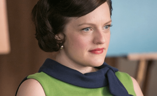 Peggy gets emotional on the mid-season finale of Mad Men