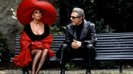 Loren as Isabella de la Fontaine and Marcello Mastroianni as Sergio, her estranged husband