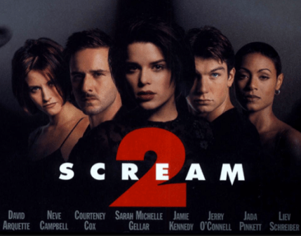 Promotional poster for Scream 2