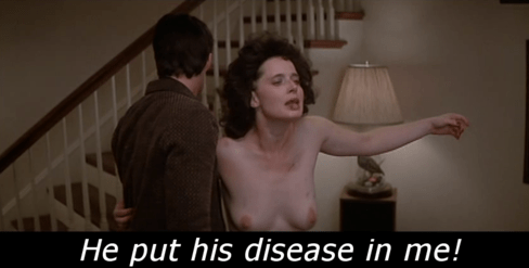 The quintessential Rossellini line from Blue Velvet