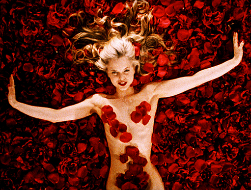 The classic scene from American Beauty
