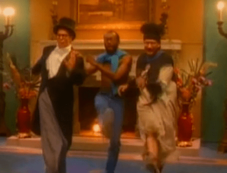 """Video still from 1988's """"Don't Worry, Be Happy"""""""