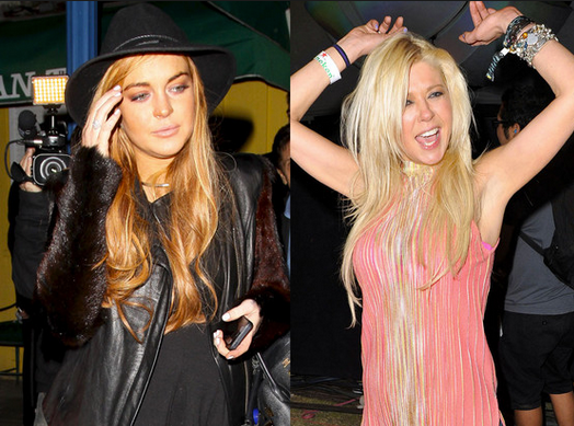 The difference between Lohan and Reid? Long Island and New Jersey