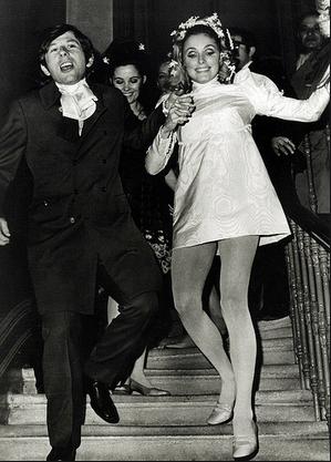 Roman Polanski and Sharon Tate's wedding, 1968
