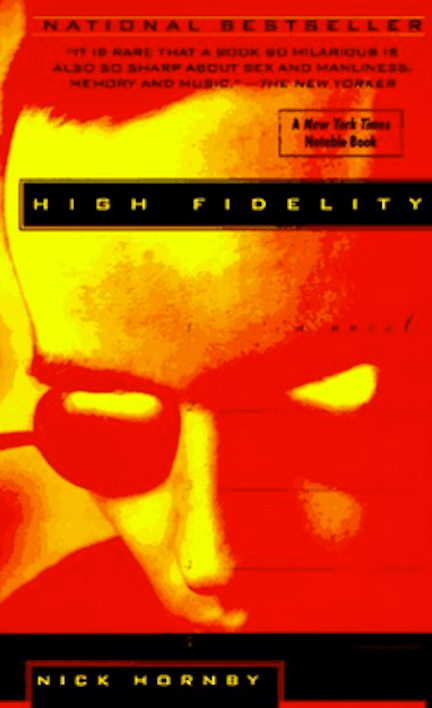 Book cover for High Fidelity