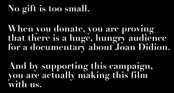 The creators of the documentary's enticement to donate