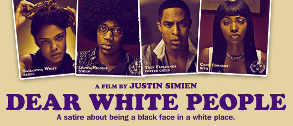 Promotional poster for Dear White People
