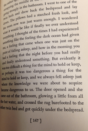 Passage from In Love