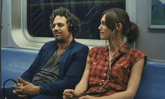 Dan and Gretta in Begin Again