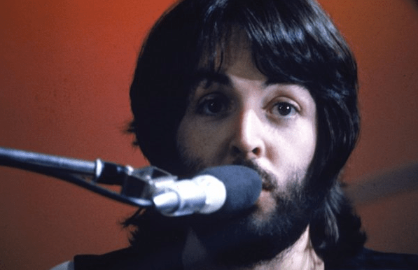 "Paul McCartney during the ""Let It Be"" phase"