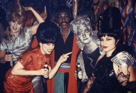 NYC's Danceteria in the 1980s