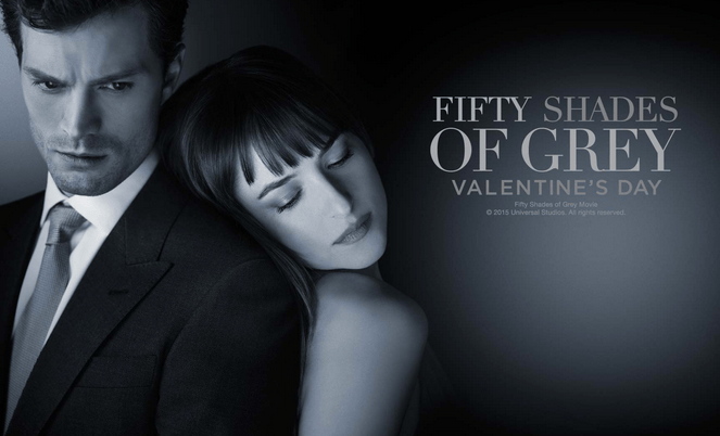 Promo poster for Fifty Shades of Grey