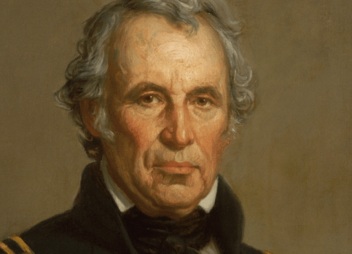 Zachary Taylor: real stoic like