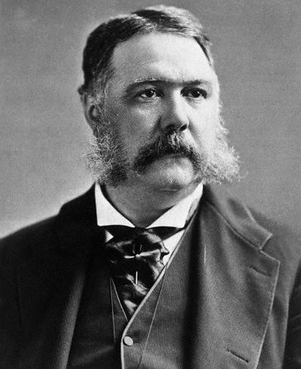 Chester Arthur: a forerunner to William Taft's plumpness