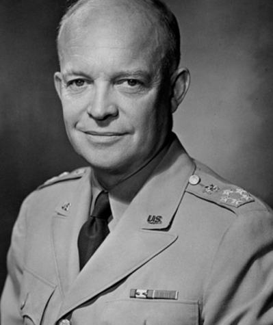 Dwight Eisenhower: military man