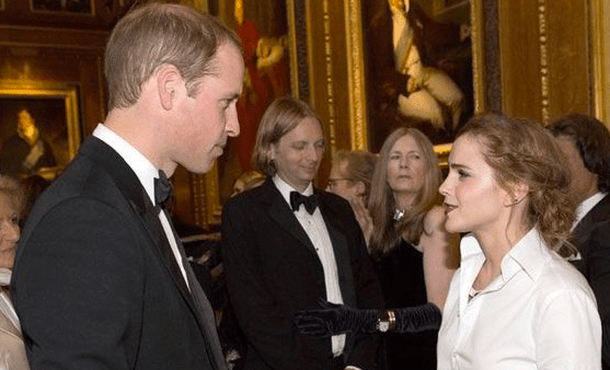 Watson's already in with Prince William--now has merely the Queen to impress