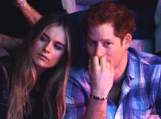 are prince harry and cressida bonas still dating Meghan markle isn't worried about prince harry hanging out with his ex--girlfriend, we've learned exclusively.