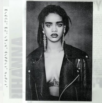 Album cover for R8, Rihanna's eighth album
