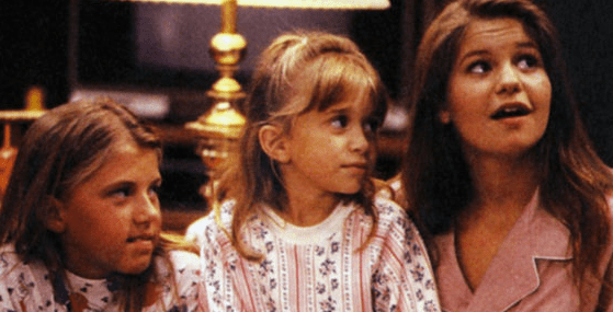 Michelle Tanner clearly has better things to do now then hang with these two