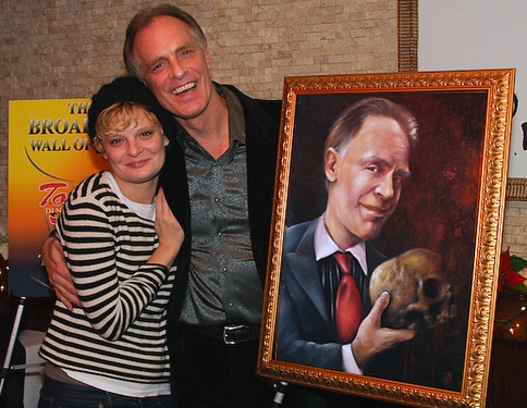 Keith Carradine and Martha Plimpton