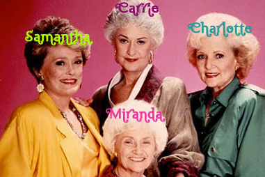 The women of Sex and the City in their old age