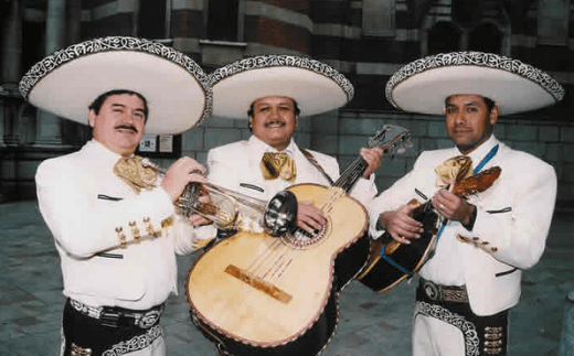 Mariachi = gay people in Lady G's eyes