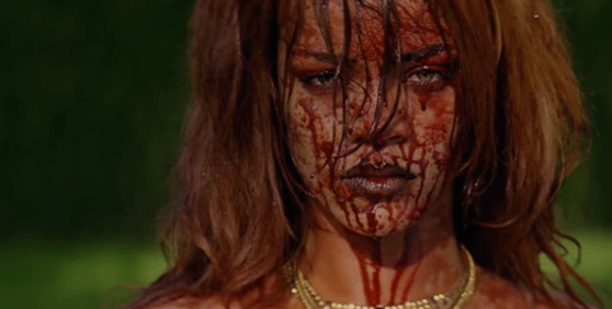 "Rihanna Wants Blood in ""Bitch Better Have My Money"" Video"