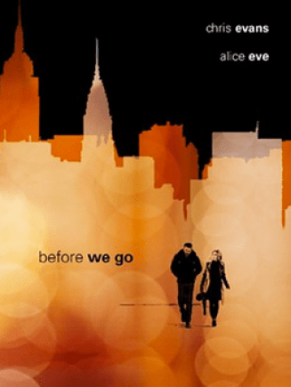 Promo poster for Before We Go