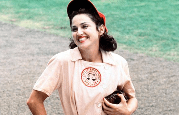 Madonna as All the Way Mae in A League of Their Own